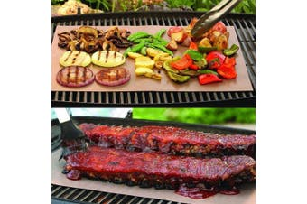 Copper Grill Outdoor Camping Hiking Barbeque Mat- Copper Color 33cm*40cm*0.2mm