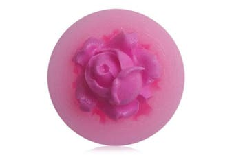 Facemile Rose Cake Fondant DIY Silicone Mold 1pc- Pink