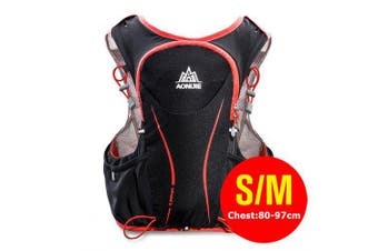 AONIJIE E906 Hydration Pack Backpack Rucksack Bag Vest Water Bladder Running Marathon Race Sports 5L- SM Black Red China