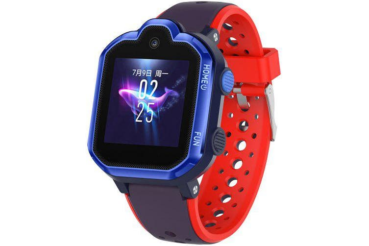 18mm Children Double Colors Silicone Wristband for HUAWEI Kids Smart Watch- Multi-D