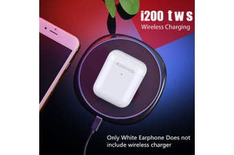 GONOKER i200 Bluetooth Earphone Wireless Charging Earplug Pop up Headsets- White China