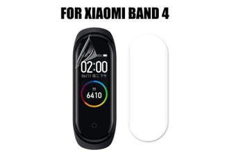 Soft explosion-proof protective film for Xiaomi Band4 3 PCS- Transparent
