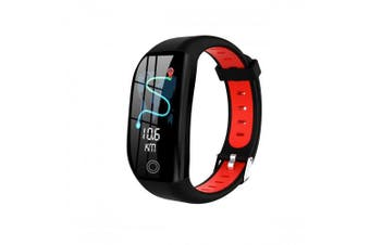 Fitness Heart Rate Monitor Female Physiological Function Alert Sleep Monitoring Smart Watch- black red China