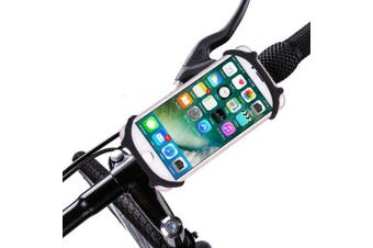 Professional Bike Phone Mount Holder- Black