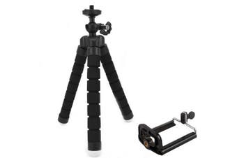 Metal Plastic Phone Tripod- Black