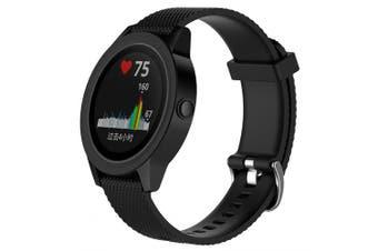 Watch Strap Watchband for Samsung Gear Sport / Garmin vivoactive 3 / vivomove / vivomove HR- Black