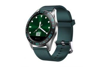 LEEHUR Smart Watch IP67 Waterproof Smartwatch Intelligent Watch Sports Fitness Watches- Green