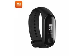 xiaomi band 3 Smart Wristband With OLED Touch Screen Waterproof Heart Rate Fitness Tracker Bracelet- Black
