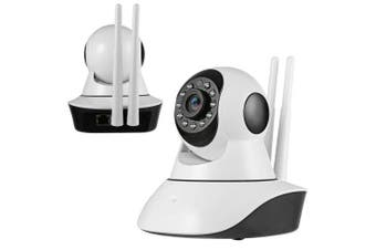 720P 3.6mm Wireless Network Camera Home Office Security Childcare Elderly Care Pet Watching- White EU Plug 3.6mm Germany