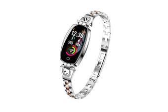 LEMFO H8 2019 Women Smart Watch Waterproof Heart Rate Monitor Calorie Camera Remote- silver China