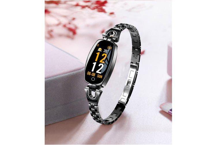 LEMFO H8 2019 Women Smart Watch Waterproof Heart Rate Monitor Calorie Camera Remote- silver China
