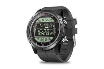 Zeblaze VIBE 3S Smartwatch Real-time Weather Long Standby Sports Waterpoof Smart Bracelet Watch- Black China