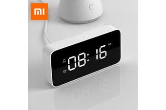 Xiaomi xiaoaiAlarm Clock Smart Voice Broadcast Work with Mi Home App- White China