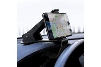 Universal Car Dashboard Mount Holder Stand for Smartphone GPS- Black
