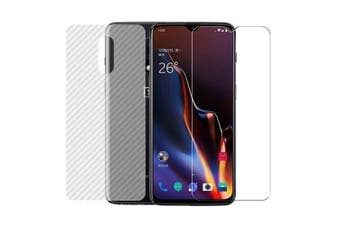 CHUMDIY Full Coverage Cellphone Protective Soft Film for OnePlus 7- Transparent