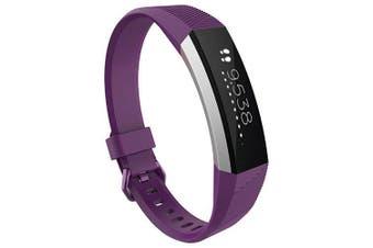 Smart Bracelet Watch Strap for Fitbit Alta Hr- Plum Pie L
