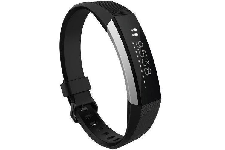 Smart Bracelet Watchband for Fitbit Alta Hr- Black L