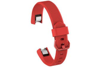 TPE Wristband for Fitbit Alta HR- Red
