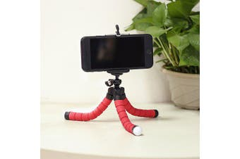 Flexible Mini Octopus Selfie Stick Tripod Smart Phone Stabilizer Bracket Selfie Holder Mount- China Red