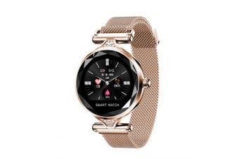 Fashion Smart Watch for Women Bracelet Sports Bluetooth Watches- Gold China