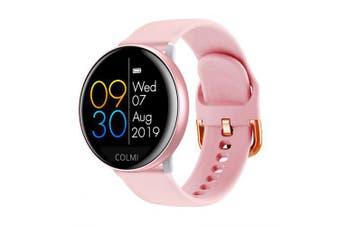 Smart Watch 1.22Inch Led Screen Heat Rate Monitoring IP68 Waterpoof Smart Wacth- Pink China