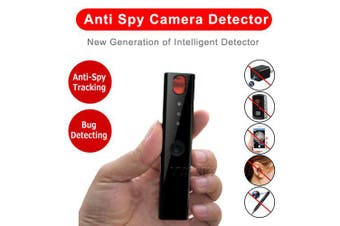 Mini Anti Spy Hidden Camera Detector Pen LED Infrared Scanning RF Signal Detection- Black China