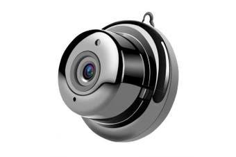 Wireless Mini WIFI Night Vision Smart Home Security IP Camera Onvif Monitor- Black 1pc