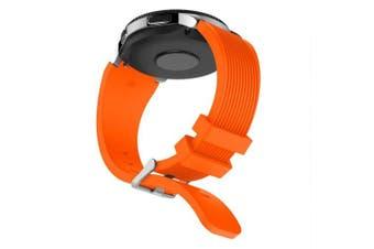 Soft Silicone Watch Band Wrist Strap for Huami Amazfit GTR 47MM Wristband- Orange