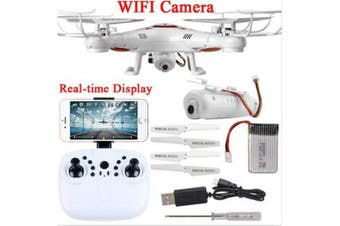 Wifi Real Time Fvp Helicopter X5U Drones with Camera HD De Controle Remotol Helicopter Drone RC- White China