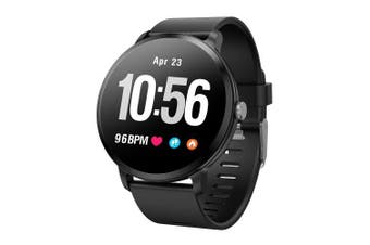 COLMI V11 Smartwatch with Activity fitness tracker Heart rate monitor- Black