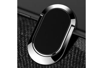 Metal Paste Phone Ring Buckle Bracket- Black