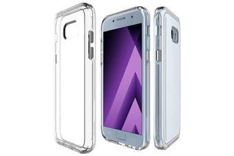 Case for Samsung Galaxy A520 / A5 2017 Shockproof Transparent Back Cover- Transparent