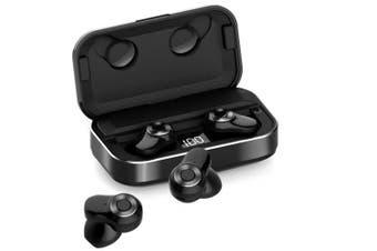A6 TWS True Wireless Headphone Wireless Sport Fitness Bluetooth 5.0 Stereo- Black