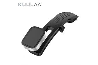 KUULAA Magnetic Car Phone Holder Dashboard Paste Car Holder Stand for iPhone Samsung- Silver