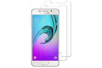 2PCS Screen Protector Protection for Samsung Galaxy A3 2016/ A310 Tempered Glass- Transparent