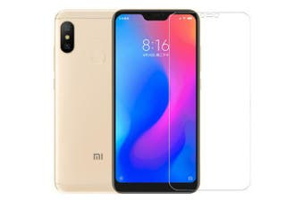 ASLING 0.26mm 9H 2.5D Arc Shatter-proof Protector Tempered Glass Screen Film for Xiaomi Mi A2 Lite- Transparent