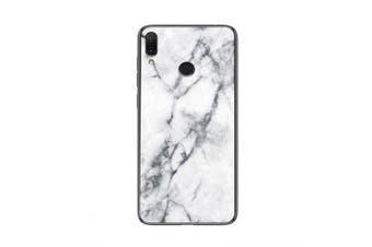 LEEHUR Marbled Glass Case for Xiaomi Redmi 7- White Glass TPU China