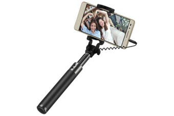 Yeshold High-EndSelfie Stick Selfie Stick Phone General- Black