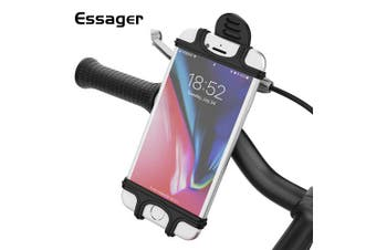 Essager Bicycle Phone Holder Universal Motorcycle Mobile Phone Holder Bike Mount Bracket For Xiaomi- Black China