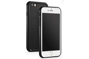 Slim Shockproof Hybrid Rubber Waterproof Tpu Touch Cover Cases for Iphone 6/6S- BLACK+WHITE