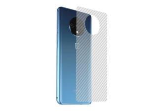 CHUMDIY 3D Anti-Fingerprint Back Film Screen Protector for Oneplus 7T- Transparent