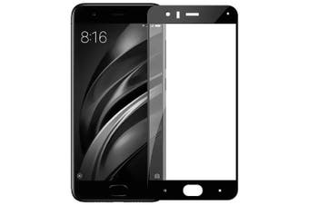 Tempered Glass Full Screen Protector for Xiaomi 6- Black