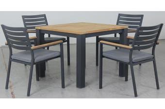 Velassaru 5 piece 4 seater dining set