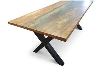 Havanna Recycled Boatwood Dining Table