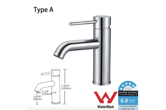 Kitchen Bathroom Laundry Shower Water Basin Mixer Tap Vanity Sink Faucet WELS Type A