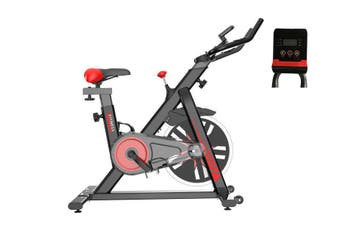 Exercise Spin Bike Flywheel Fitness Commercial Home Gym Black Unique Design
