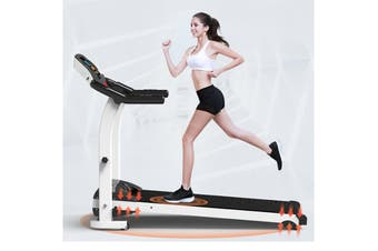 Folding Motorised Treadmill Walking Ultra Pulse Sensor Thin Silent Intended Slope Exercise