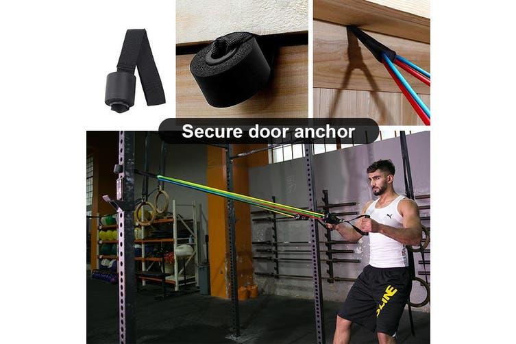 Latex 11PCS Heavy Duty Resistance Band Tube Power Gym Yoga Training Fitness