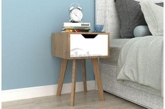 Night Stand Bedside Table Side Drawer Storage Nightstand Lamp Unit Cabinet
