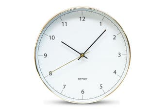 Salt&Pepper BLAIR Wall Clock - 31cm - White